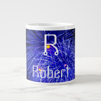 Personalized Name & Initial - Large Coffee Mug