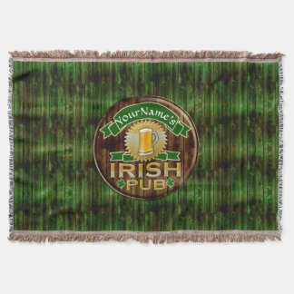 Personalized Name Irish Pub Sign St. Patrick's Day