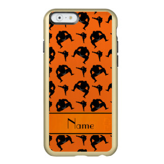 Personalized name orange sumo wrestling incipio feather® shine iPhone 6 case