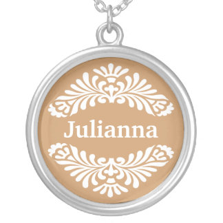 Personalized Name Pendant :: Gold