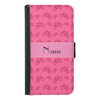Personalized name pink bicycles