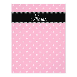Personalized name Pink diamonds Full Color Flyer
