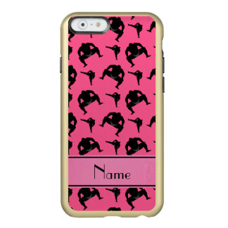 Personalized name pink sumo wrestling incipio feather® shine iPhone 6 case