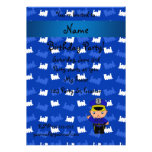 Personalized name policeman blue trains personalized invitation