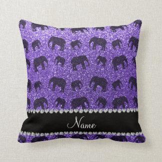 Purple Elephant Cushions - Purple Elephant Scatter Cushions Zazzle.co.uk