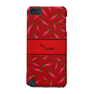 Personalized name red chili pepper iPod touch 5G case