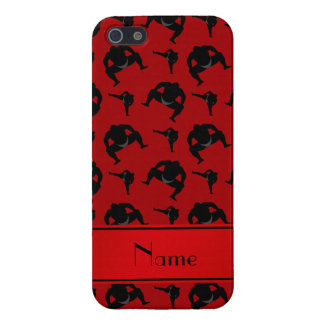 Personalized name red sumo wrestling iPhone 5 covers