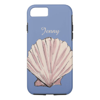 Personalized Name Seashell iPhone 8/7 Case