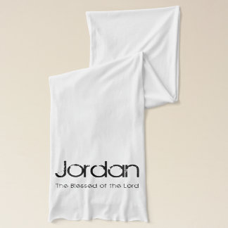 Personalized Name The Blessed of the Lord Scarf