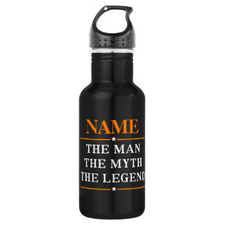 Personalized Name The Man The Myth The Legend 532 Ml Water Bottle