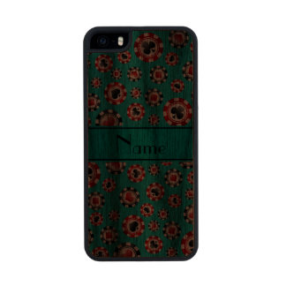 Personalized name turquoise poker chips iPhone 6 plus case