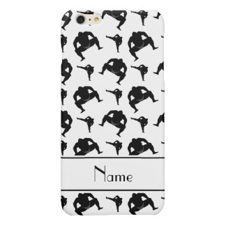 Personalized name white sumo wrestling iPhone 6 plus case