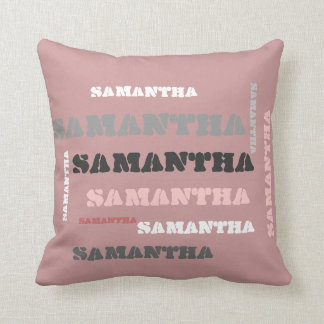 Personalized NAME wordcloud gifts Cushion
