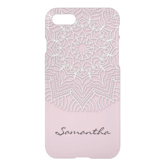 Personalized Name, Yoga Mandala Pattern iPhone 8/7 Case