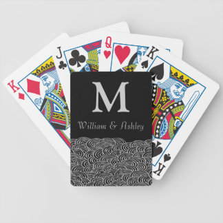 Personalized Names and Monogram Playing Cards