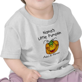 Personalized Nana's Little Pumpkin Tshirt