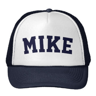 Personalized Navy Blue Short Name Cap