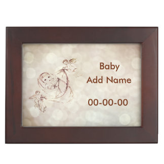 Personalized New Baby Keepsake Box