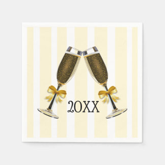 Personalized New Years Even Party Paper Napkins Disposable Napkin