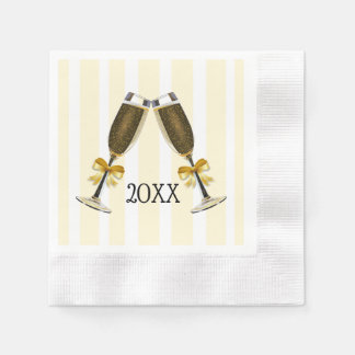 Personalized New Years Even Party Paper Napkins Disposable Serviette