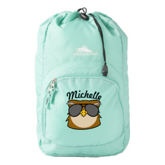 Personalized Night Owl Backpack