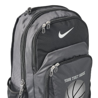 Personalized Nike Basketball Backpack, YOUR TEXT Backpack