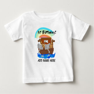 Personalized Noah's Ark 1st Birthday Tshirt