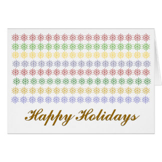 Personalized non-denominational Holiday card