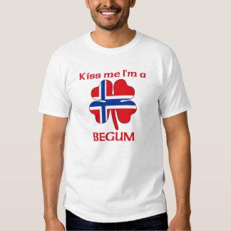 Personalized Norwegian Kiss Me I'm Begum Shirt