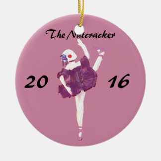 Personalized Nutcracker Ornament - Ballerina Doll
