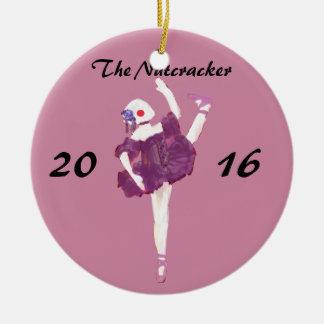Personalized Nutcracker Ornament - Ballerina Doll