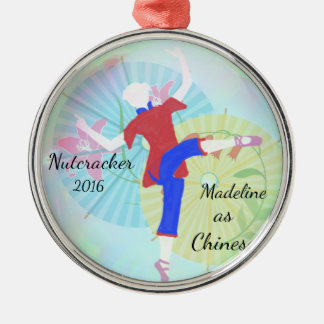 Personalized Nutcracker Ornament - Chinese dance