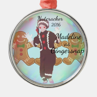 Personalized Nutcracker Ornament - Gingersnap