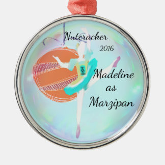 Personalized Nutcracker Ornament - Marzipan