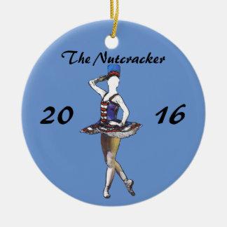 Personalized Nutcracker Ornament - Military Doll