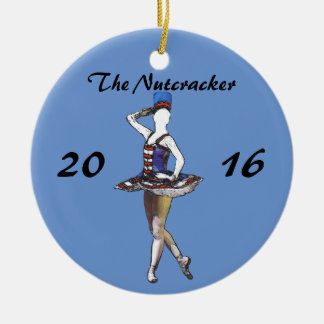 Personalized Nutcracker Ornament - Military Doll