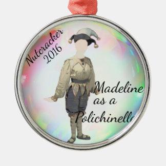 Personalized Nutcracker Ornament- Polichinelle Christmas Ornament