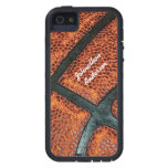 Personalized Old Retro Basketball Pattern iPhone 5/5S Cover