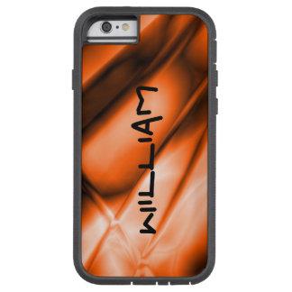 Personalized Orange Colored iPhone Tough Case Tough Xtreme iPhone 6 Case