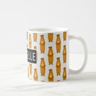 Personalized Otters Coffee Mug