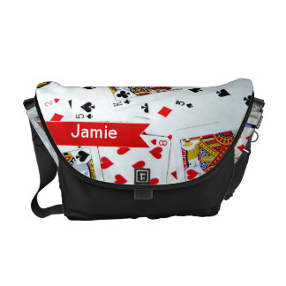 Personalized Pack of Playing Cards bag Commuter Bags