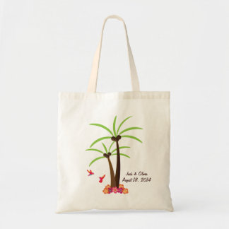 Personalized Palm Tree Tote Budget Tote Bag