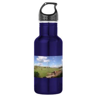 Personalized Panoramic Photo Aluminum 532 Ml Water Bottle