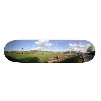 Personalized Panoramic Photo Skateboard Designs