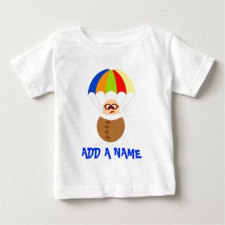 Personalized Parachute Baby T-Shirt