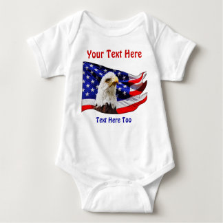 Personalized Patriotic Matching Shirts for Family