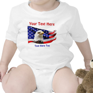 Personalized Patriotic Matching Shirts for Family Creeper