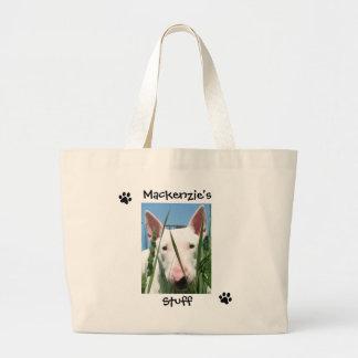 Personalized Pet Canvas Bag