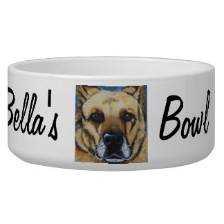 Personalized Pet Food Bowl Dog Water Bowls