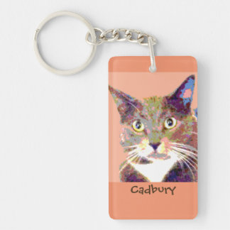 Personalized Pet Keychain